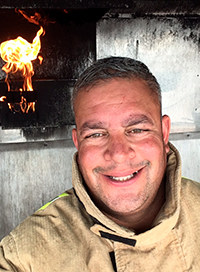 Raj Baksi is a workplace fire safety training manager/instructor