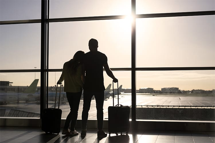 Couple traveling abroad to have fertility treatment