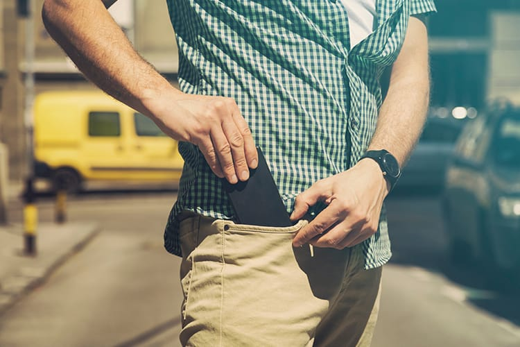 Some studies show that radio waves from mobile phones may impact sperm quality