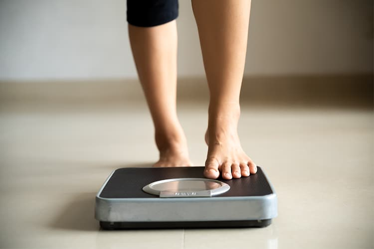 Increased weight is a potentially disturbing problem associated with PCOS